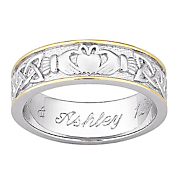 Ring Claddagh Personalized