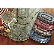 7 Piece Bristol Braided Rug Set