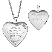 Pendant Personalized Memorial Locket