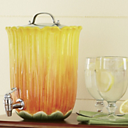 Beverage Dispenser, Sunflower 6-Qt.