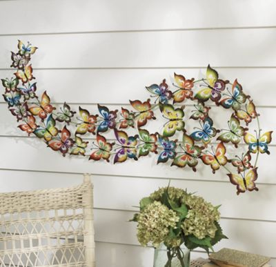 Butterfly In Flight Decor