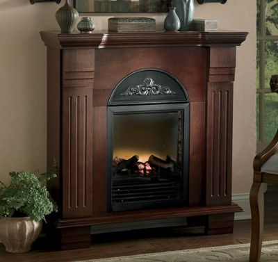 Arched Electric Fireplace