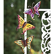 3 piece Metal Butterfly Set