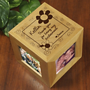 Thank You Bridesmaid Photo Cube