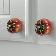 8 piece Get your veggies Assorted Knob Set