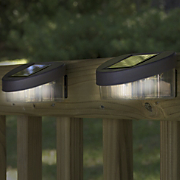 Buy 2 Sets Of Solar Fence Post Lights And Save