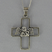 Angel Cross Pendant