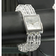 Acrylic Bead Stretch Watch
