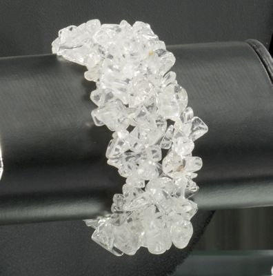 Quartz Chip Stretch Bracelet