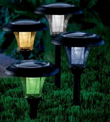 Multicolored Solar Light