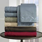 Sheet Set Embroidered Microfiber