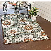 Summer Blooms Anywhere Rug