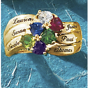 Heart Stone Family Name Band