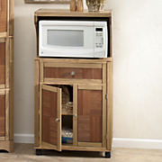 Island Breeze Microwave Cart