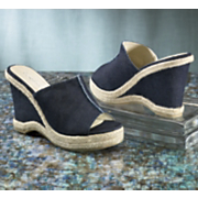 Denim Wedge By Classique