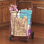 butterfly shopping cart