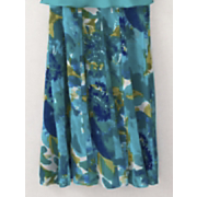 Watercolor Cascade Skirt