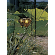 Amber Sunset Solar Light with Stake 7