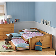 Solid Pine Daybed Trundle Bed