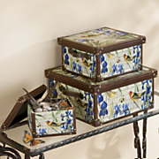 3 piece bird trunk set