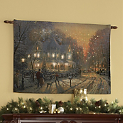 Thomas Kinkade Lighted Wall Hanging