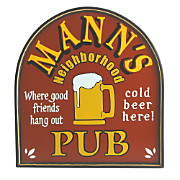Neighborhood Pub Small Sign