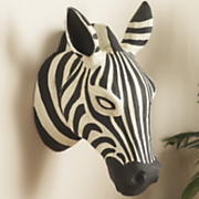 Zebra Wall Head
