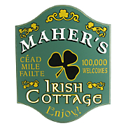 Irish Rose Cottage Sign