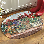Country Garden Accent Rug