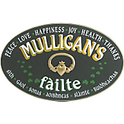 Failte Oval Sign