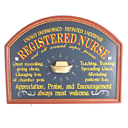 Registered Nurse Sign
