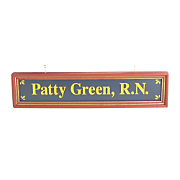 Registered Nurse Nameboard