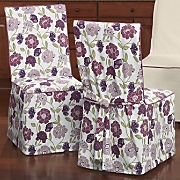 berry floral chair cover