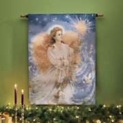 Stardust Angel Lighted Wall Hanging