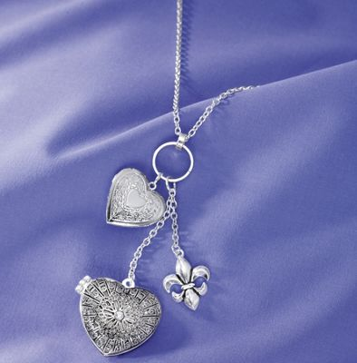 Heart Lockets Pendant