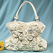 Summer Fun Cinched Floral Bag