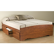 3 Drawer Platform Storage Bed