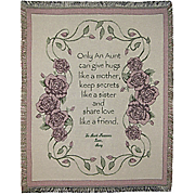 Throw Aunt Personalized