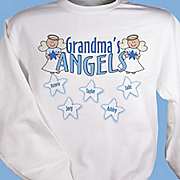 Personalized Sweatshirt Angels