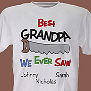 Personalized Tee Best We Ever Saw
