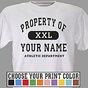 Tee Property of Athletic