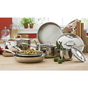 Cookware Tri Ply 10 Piece Set