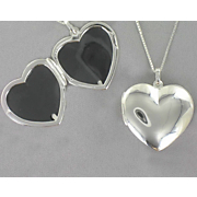 Locket Sterling Silver Heart