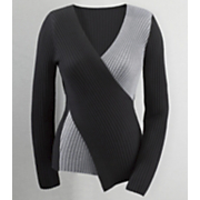 Sweater Deanna Colorblock Crisscross