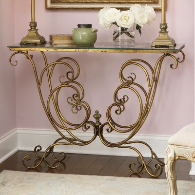 Scrolled Console Table 1