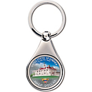 Colorized Washington Commemorative Half Dollar Keychain