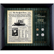 NY Times Titanic 1912 Us Mint Coin Collection
