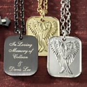 Pendant Personalized Stainless Steel Watching Over Me