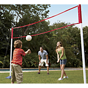 3 in 1 tennis badminton and volleyball set