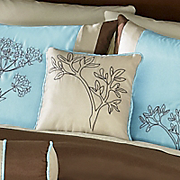 Brookfield Embroidered Decorative Pillow